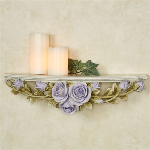 Rose Melody Wall Shelf Purple