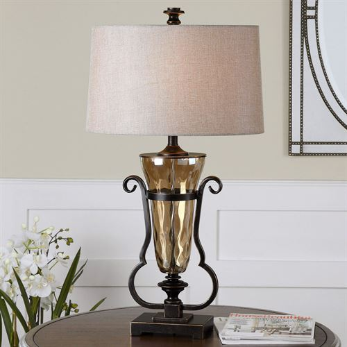 Aemiliana Table Lamp Amber