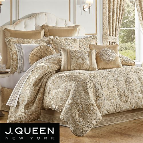 Albany Comforter Set Champagne