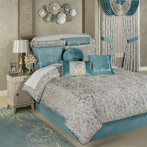 Lansbury Comforter Set Teal