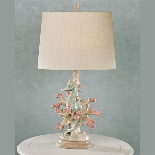 Seahorse Table Lamp Multi Pastel