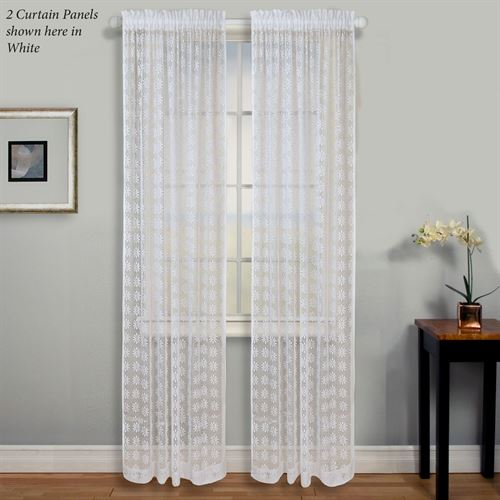 Millington Lace Curtain Panel