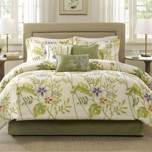 Masina Comforter Bed Set Deep Sage