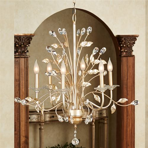 Camille Hanging Chandelier Ceiling Light Gold
