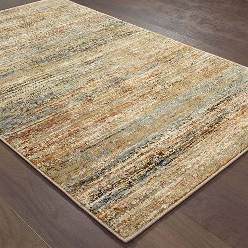 Brixton Rectangle Rug Multi Earth