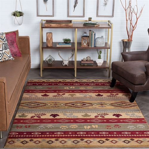 McCoy Rectangle Rug Multi Earth