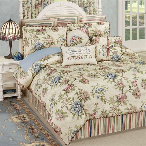 Chatsworth Comforter Set Light Cream
