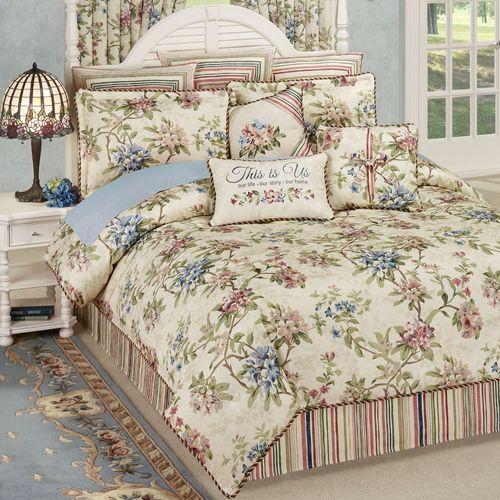 Chatsworth Comforter Set Light Cream