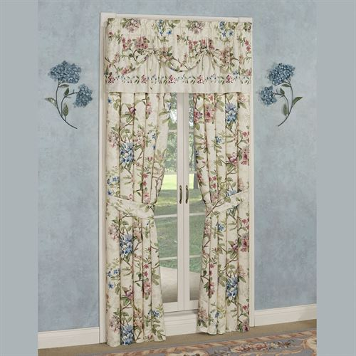 Chatsworth Tie Up Valance Light Cream 60 x 18