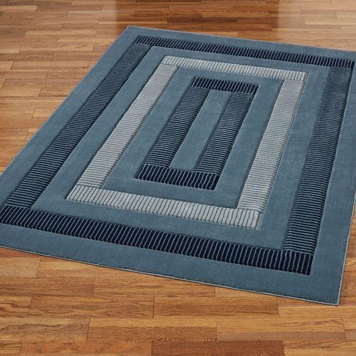 Park Place Rectangle Rug Blue