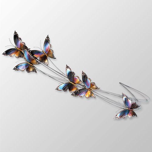 Butterfly Flight Path II Wall Sculpture Multi Jewel