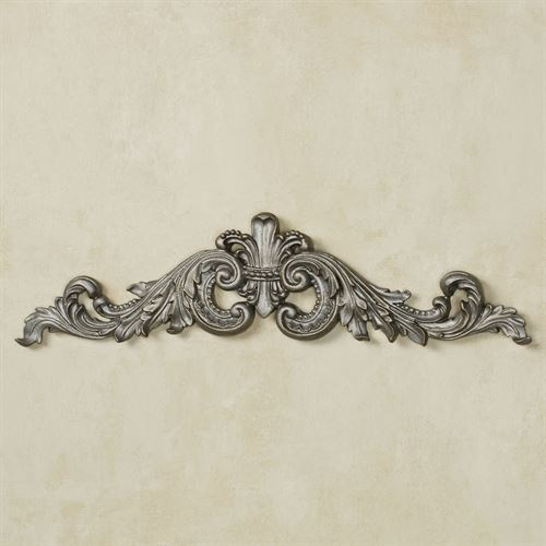 Sidoria Scroll Picture Topper Aged Silver