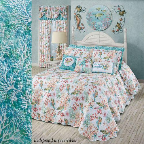 Atlantis Grande Bedspread Multi Bright