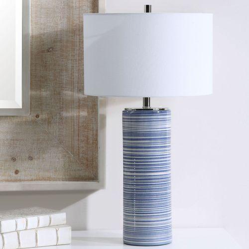 Montauk Table Lamp Indigo