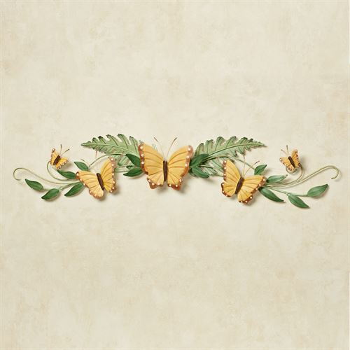Butterfly Song Swag Wall Topper Green