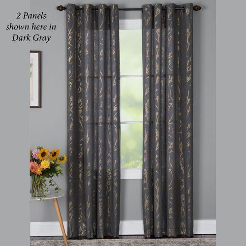 Tala Semi Sheer Grommet Curtain Panel
