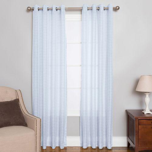 Berea Semi Sheer Grommet Curtain Panel