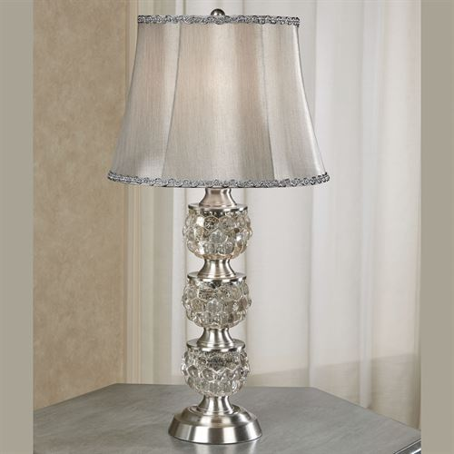 Wakefield Table Lamp Silver