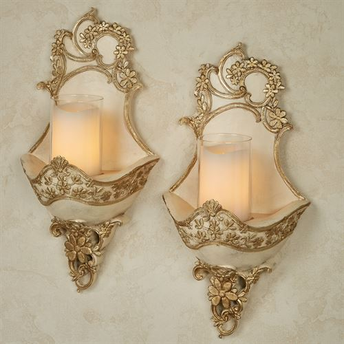 Floressa Wall Sconce Pair Multi Metallic