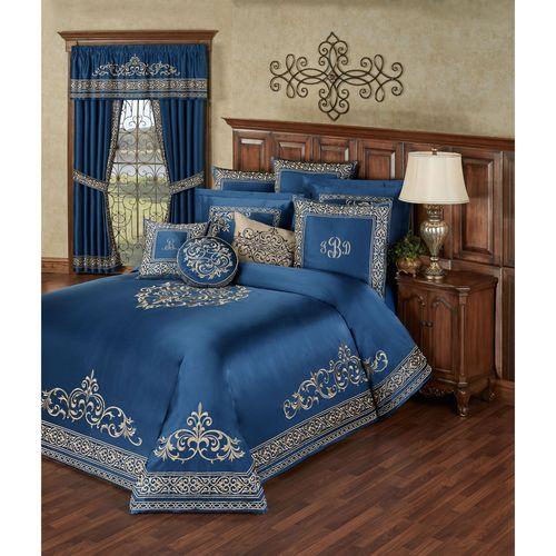 Buckingham Grande Bedspread Set Sapphire