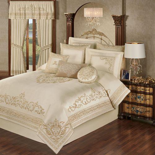Versailles Comforter Set Pearl