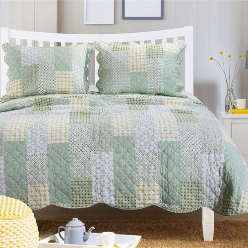 Juniper Mini Quilt Set Green