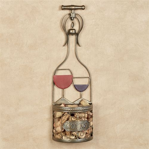 Wine Cork Holder Bronze