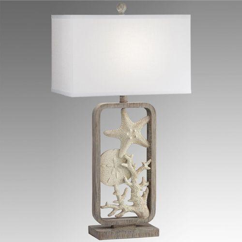 Under the Sea Coastal Table Lamp Natural