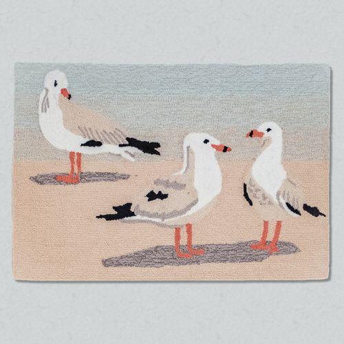 Gulls Sand Rectangle Mat Multi Cool