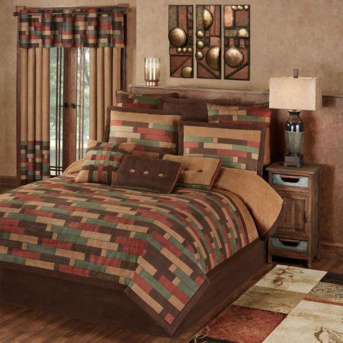 Emerson Comforter Set Multi Warm