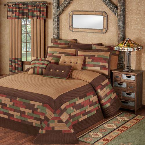 Emerson Grande Bedspread Set Multi Warm