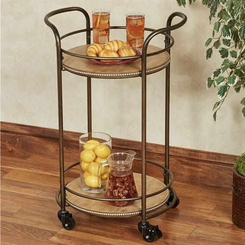 Santo Serving Cart Bronze