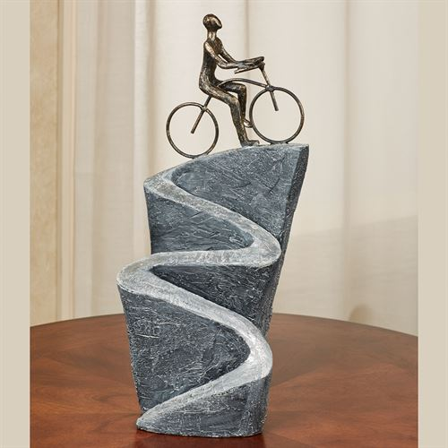 Journey of Life Table Sculpture Gray