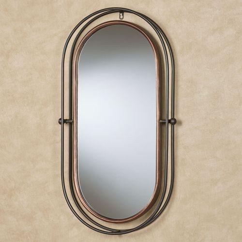Baker Oblong Wall Mirror Multi Metallic