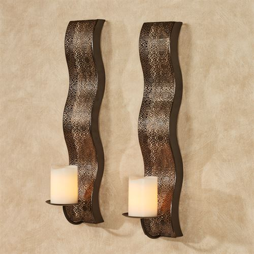 Alby Wall Sconce Pair Bronze