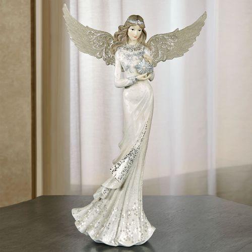 Charmeine Angel Table Sculpture Ivory
