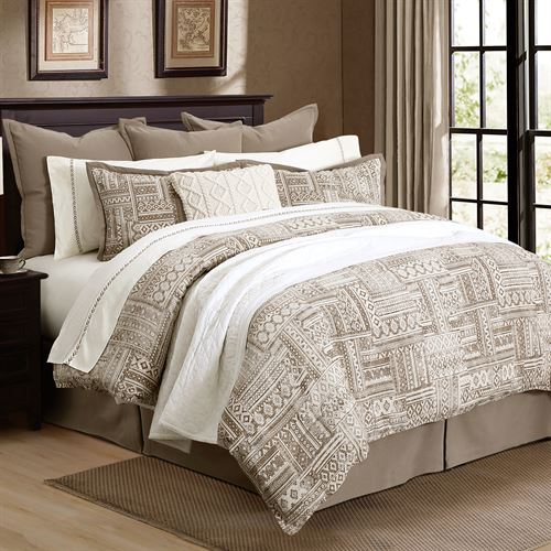 Trent Mini Comforter Set Taupe