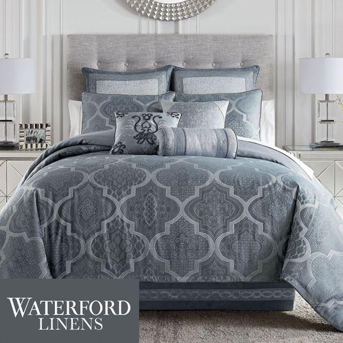 Trento Comforter Set Steel Blue
