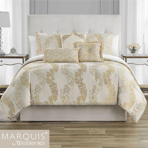 Oban Light Cream Comforter Bed Set