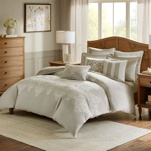 Barely There Comforter Bed Set Natural