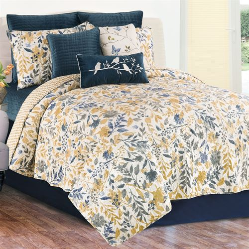 Natural Home Mini Quilt Set Multi Warm