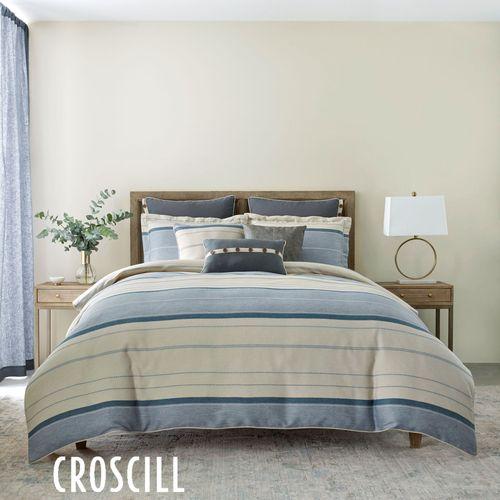 Silas Mini Comforter Set Blue