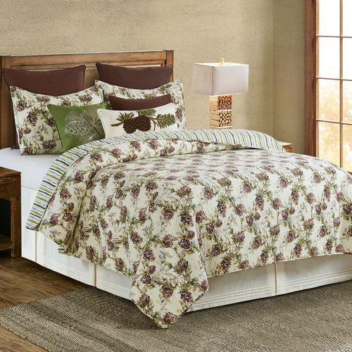 Cooper Pines Mini Quilt Set Multi Warm