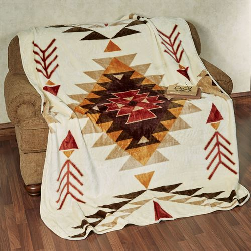 Origins Throw Blanket Light Cream 60 x 80
