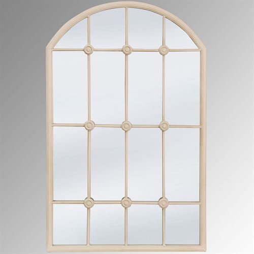 Caroll Arched Wall Mirror Taupe