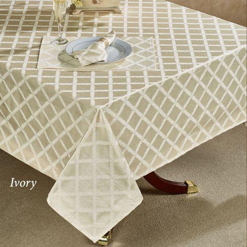 Laurel Leaf Garland Oblong Tablecloth
