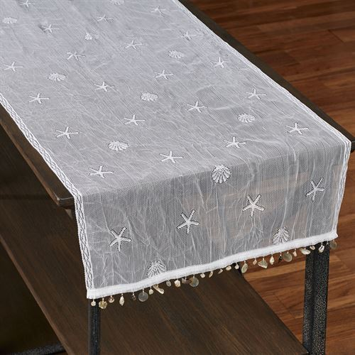 Seacrest Lace Table Runner