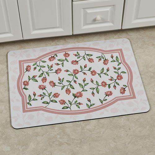 Bridal Rose Premium Comfort Mat Blush 31 x 22