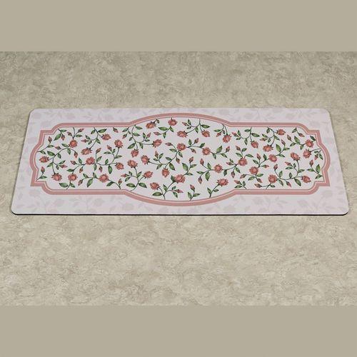 Bridal Rose Runner Premium Comfort Mat Blush 52 x 22