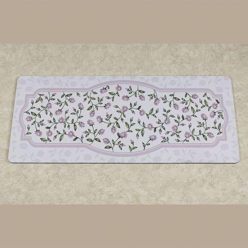 Enchanted Rose Runner Premium Comfort Mat Lavender 52 x 22